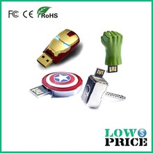 Hot Sale Free Sample high quality promotion metal finger usb flash drive 64gb for Promotional Gift fusb flash bulk cheap 32gb