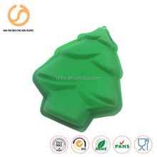 Christmas tree Manufacturer sales silicone cake baking