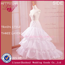 Hot sale ivory fishtail petticoat