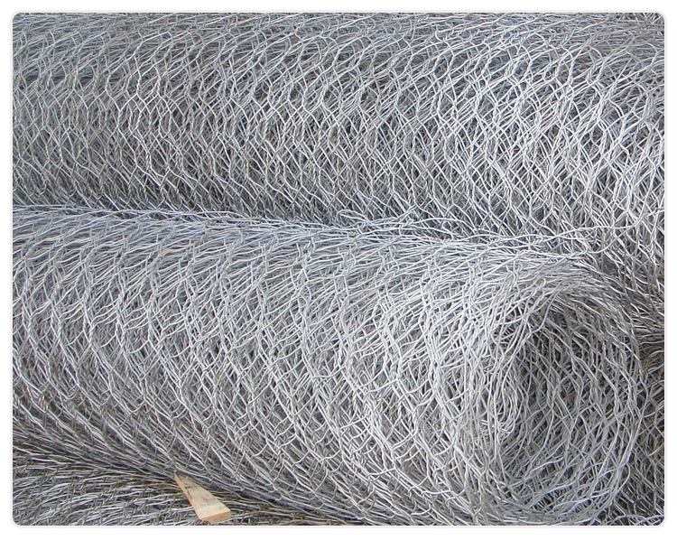 Hot Dipped Galvanized Hexagonal Wire Mesh Netting