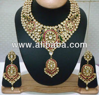 Kundan Diamond Polki Peacock Set