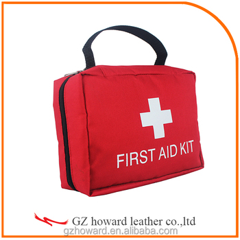 First aid bag health care products supply