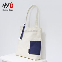 Eco-friendly wholesale superior cloth recycled natural cotton canvas bag