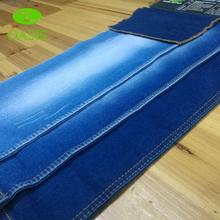 Professional stock natural cotton denim fabric for denim garment for wholesales