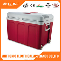 2016 BEST Antronic ATC-40 CE/GS/ROHS 40L car/home use cooler box cooler and warmer cooler box with wheels
