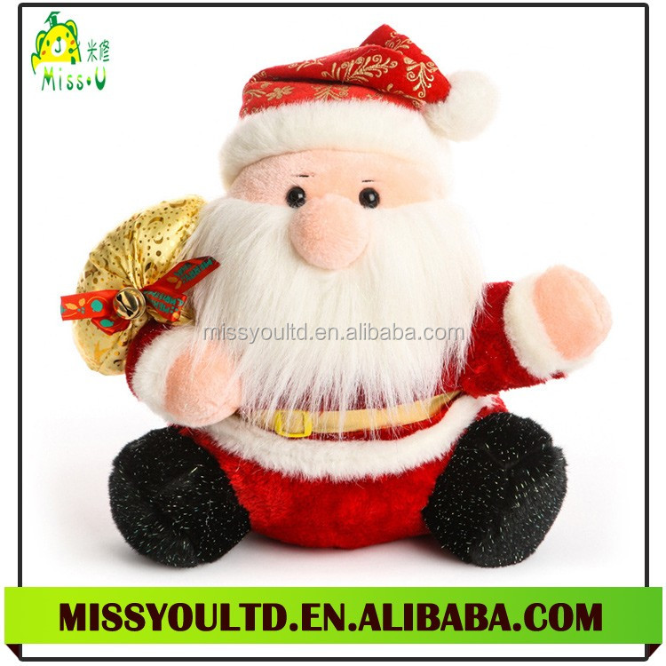 Direct Manufacturer Plush Father Christmas Toy For Christmas Present