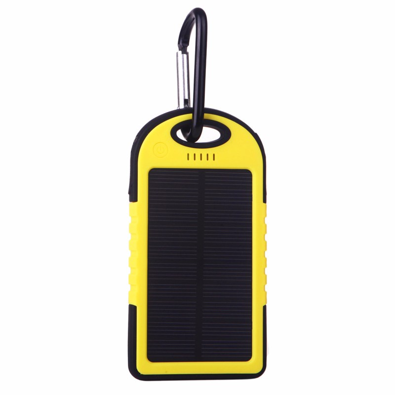 led emergency light mobile phone 12000mah solar power pack