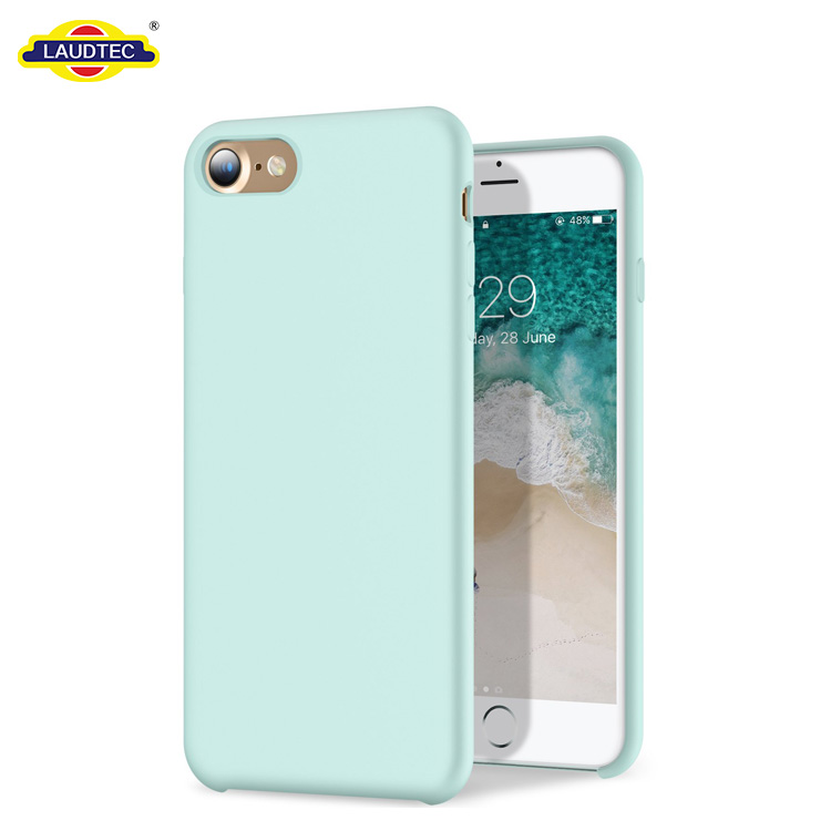 For iPhone 8 Silicone Case,For iPhone 7 Silicone Case,Silicone Gel Rubber Full Body Protective Cover Case