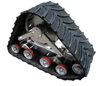 Robot/Truck/tractor/agriculture machine rubber track conversion system for ATV UTV