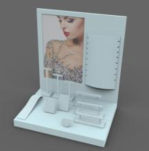 Hot sales professional modern luxury jewelry display stand/ POP jewelry shop display