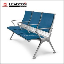 Leadcom PU padding 3-seater waiting area bench seat LS-531Y