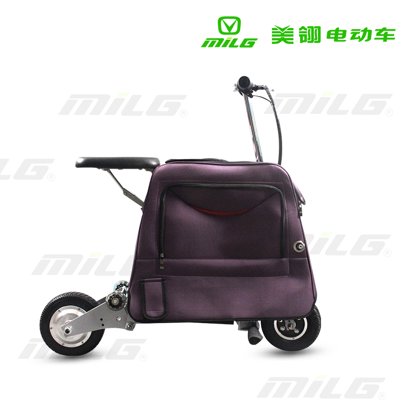 folding luggage electric scooter