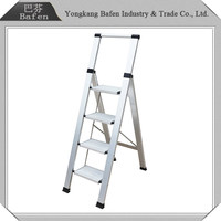 Trading & supplier of China products 4 step ladder with safety rail