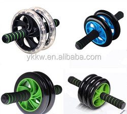 2016 Newest Design Double ab roller exercise wheel