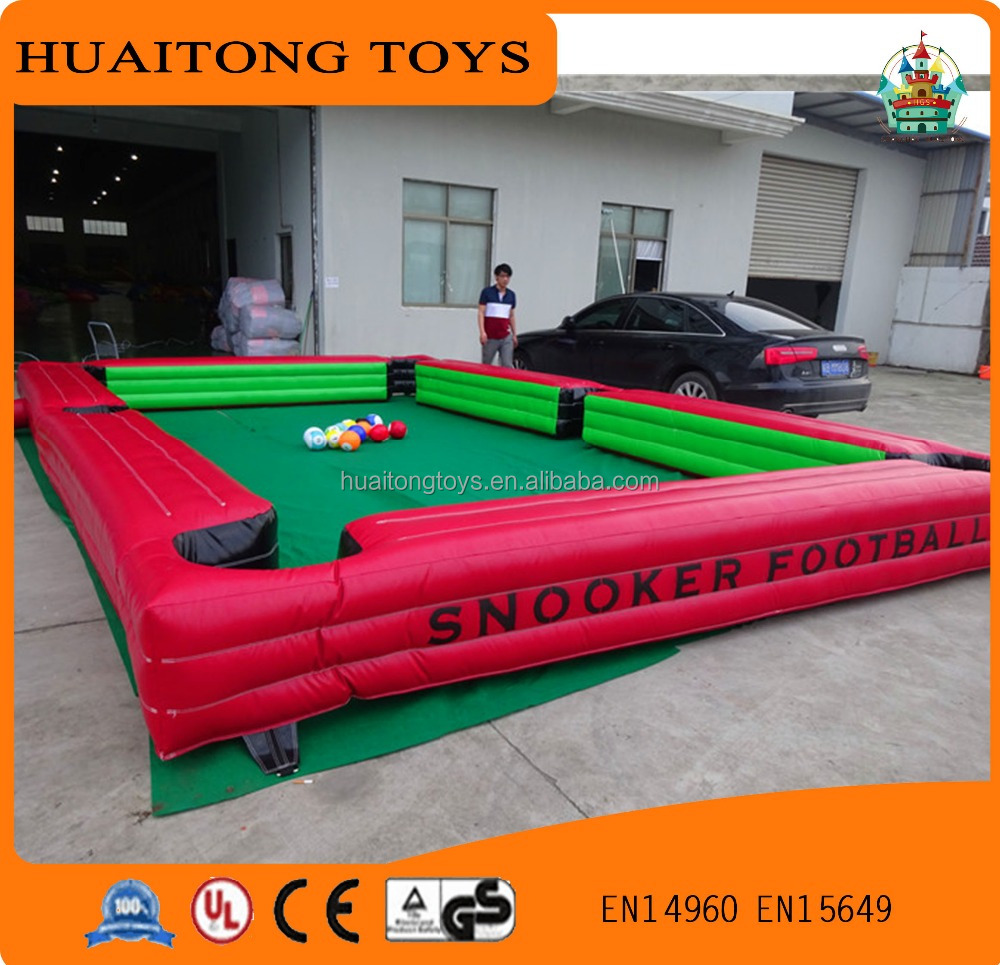 high quality outdoor billiard table, billiards pool games,inflatable human billiards for sale