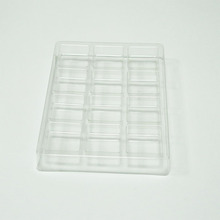 custom disposable clear <strong>plastic</strong> PET food blister packaging <strong>biscuit</strong> tray
