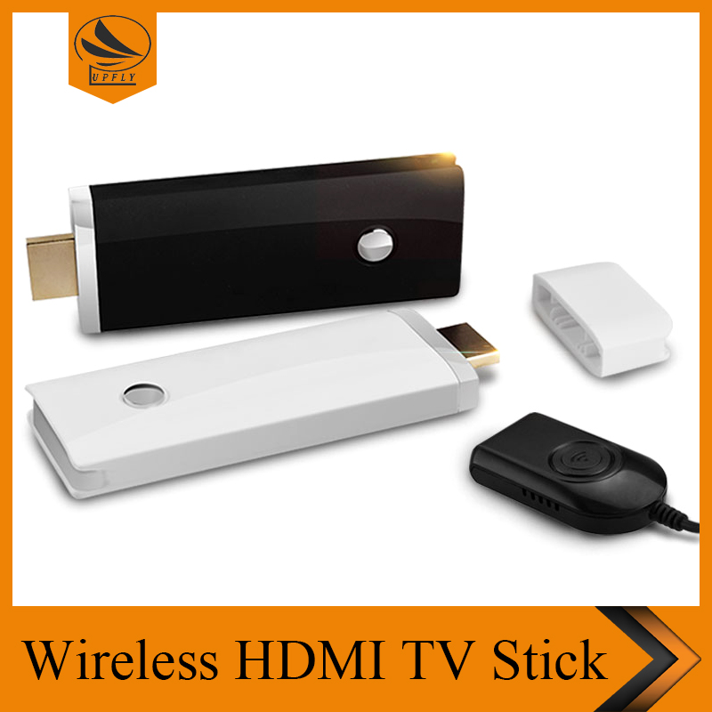 Wireless wifi HDMI Dongle transmitter and Receiver smart TV stick 1080P Miracast support Android/IOS/WIN8.1 dual core 2.4G+5G