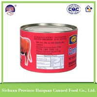 Buy wholesale direct from china manufacturer of beef products in tin