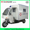 3-wheel Ambulance tuk tuk tricycle motorcycle car for sale OEM 150cc 200cc 250cc