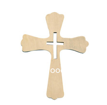 Trade assurance supplier for unfinished wood craft small wooden cross