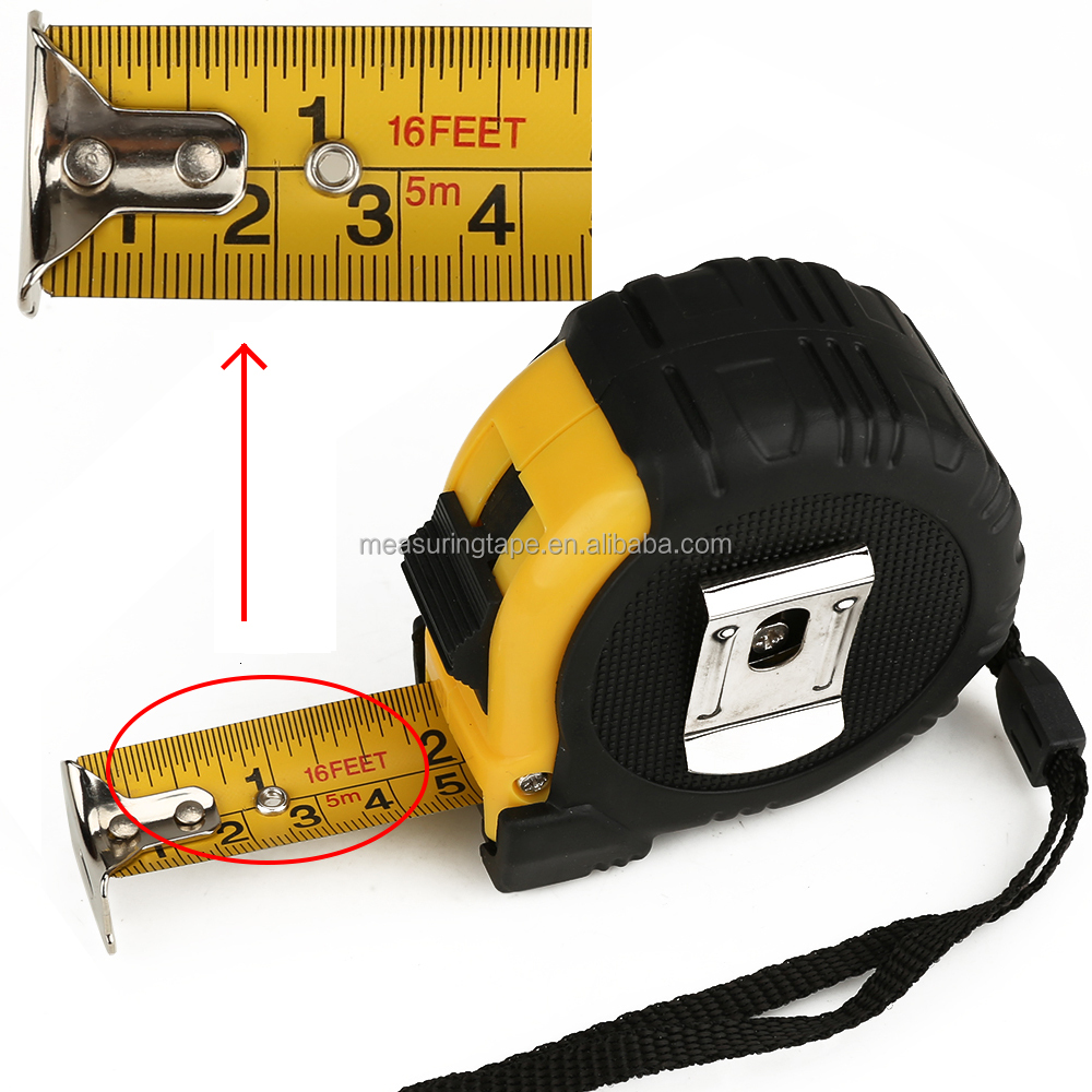 5m Hardware Structural Function of Measuring Tools Tape Measure