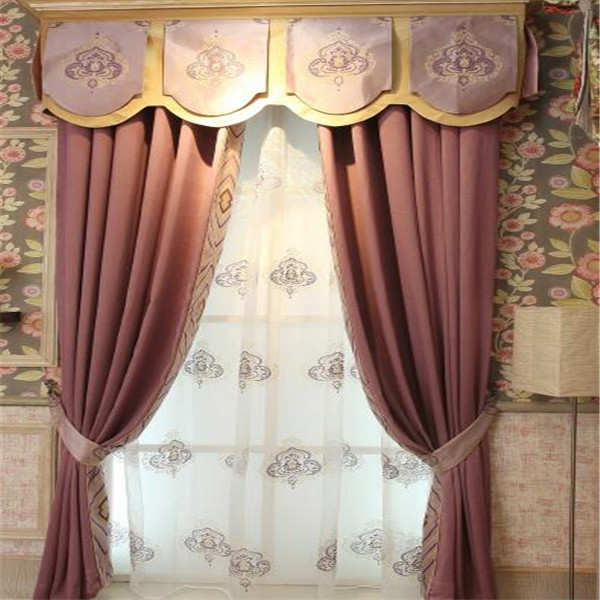 Simple design window curtain workable on the market