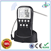 9 years Factory Wholesale Wireless 433MHZ Remote Reading Meat Thermometer For Cooking, BBQ, Turkey,Pork, Beef, Grill