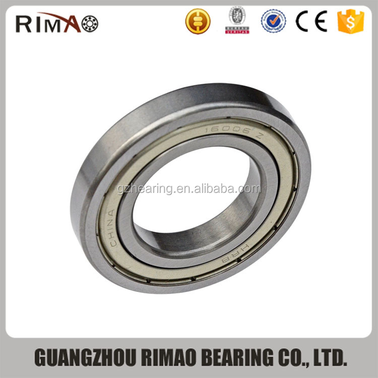 Chinese bearing 16006z deep groove ball bearing 16006 for factory price