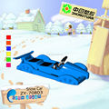2013 KIDS Double plastic snow car