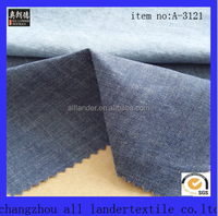 cheapest 100 cotton slub fabric wholesale slub denim fabric