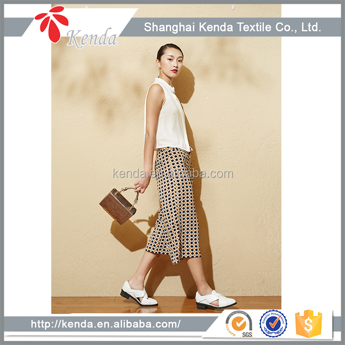 Alibaba China Wholesale Cheap Linen Wide Leg Pants