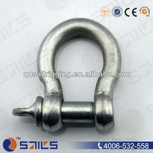 European Galvanized Adjustable Lifting Large Security Bow Shackle