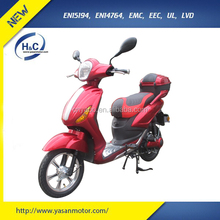 EEC Approved Cheap 2 wheel pedal assist electric scooter with 48V20AH lead acid/ lithium battery
