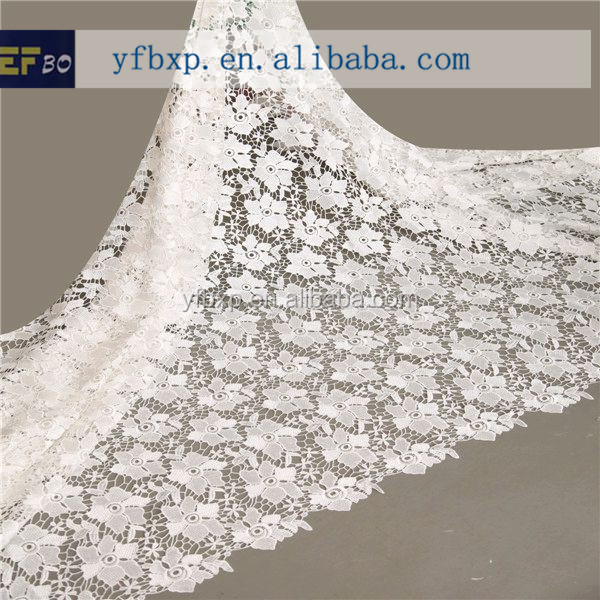 Wholesale alibaba cheap free sample fashion lace blouse white voile lace long sleeve velvet evening dress/ african material