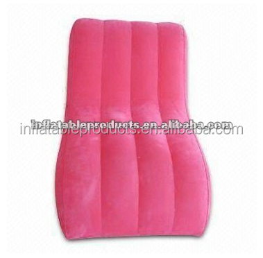 Pvc Inflatable S-shape Sofa For Sale