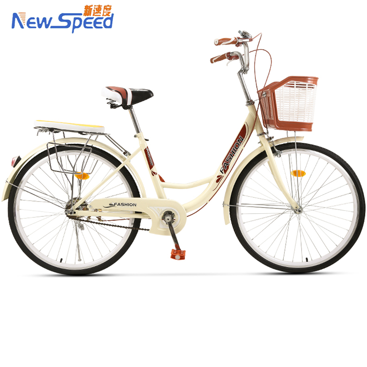 China factory 26 inch size wheel women city bike/top sale carbon frame city bicycle bike/high quality fixed gear women <strong>cycle</strong>