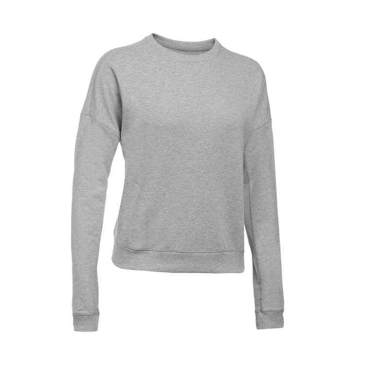 China Supplier, Woman Fashionable Ventilation Long-sleeved Sweatshirt