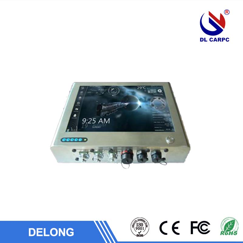<strong>15</strong> inch industrial waterproof panel pc ITX MB resistive touch LED screen all in one PC