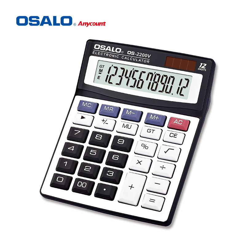 OS-2200V 12 digits good-feel desk calculator