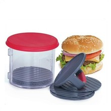 HOT SALE Kitchen Tool Plastic Beef Meat Burger Press Hamburger Patty Maker Set