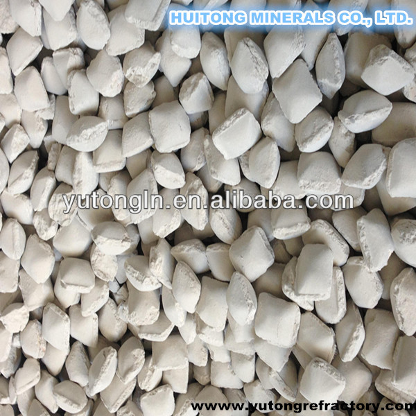 Magnesia briquettes/Caustic Calcined Magnesia Ball/cinder ball