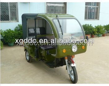 Auto rickshaw tricycle three wheel motorcycle passenger