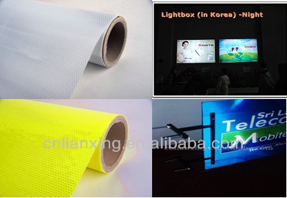 outdoor sign board material, sign material backlit, light reflective film