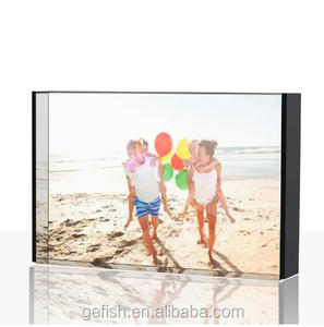 with background 5x7 acrylic photo frame display picture frame
