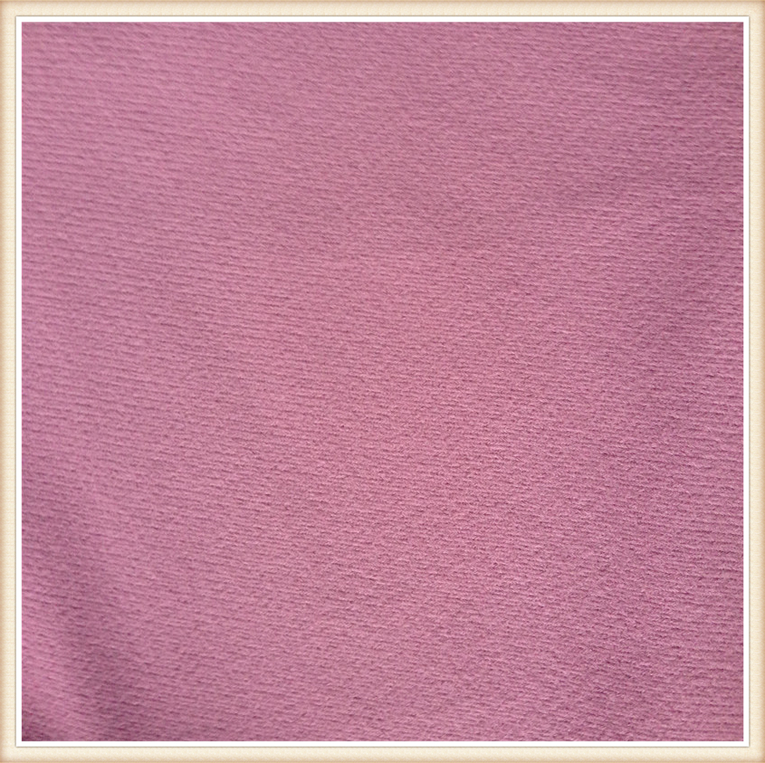 one side with good brushed,100 polyester imitation cotton velvet