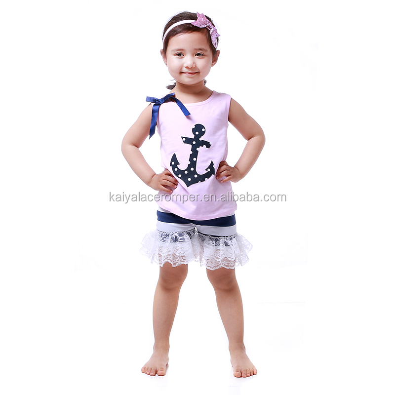 anchor tank top baby shops kids cotton frocks design