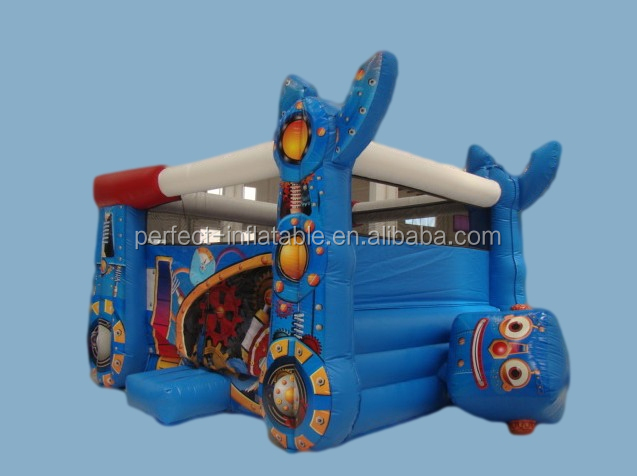 Amusement park inflatable bounce house, inflatable bounce playground equipment