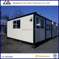 Modular Prefabricated Glass House For Sale