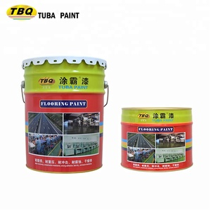 Asian Paint Resin Epoxy Coating Wear Resistance Car Parking Garage Dirt Resistance Self Leveling Dustproof Epoxy Floor Paint