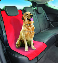 Red Water Resistant Single Pet Car Seat Cover To Protect Seats ,pets accessories